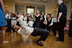 Limbo at a Wedding Reception