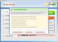Win7 Defender will ultimately urge PC users to purchase its rogue antispyware program.