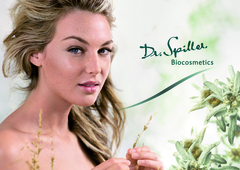 Dr. Spiller uses precious active ingredients from the Alps, such as native Edelweiss, for its new certified organic line.