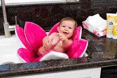 Blooming Bath baby bath - Hot Pink