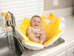 Blooming Bath baby bath - Canary Yellow