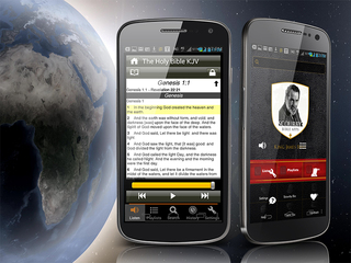 Scourby Audio Bible APP Only Available at Scourby.com, iTunes Store, Google Play and Amazon