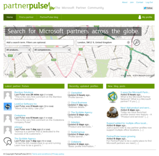 PartnerPulse - A new community of Microsoft partners