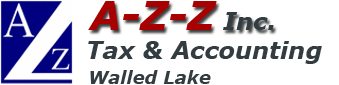 A-Z-Z Inc. Tax & Accounting in Walled Lake, MI.
