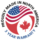 Proudly Made in North America