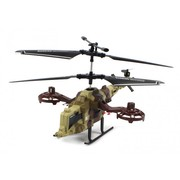 Military Snow Fox Electric RC Helicopter 4CH Indoor Coaxial RTF
