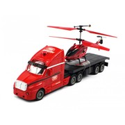 Two in One Electric RC Helicopter & Truck Combo Set Infrared GYRO 3.5CH