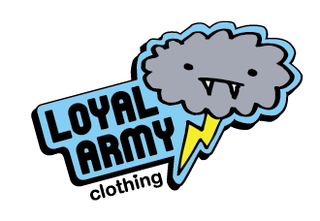 Loyal Army Clothing is known for its cute conversational graphics.
