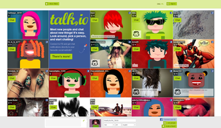 Talk.io screenshot
