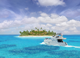 Boat to a Private Island