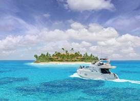 Boat to a Private Island