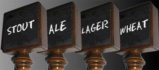 New Chalkboard Beer Tap Handle from Kegerators.com