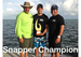 Carlos with his trophy won while using fish chum in Islamorada Florida Keys.