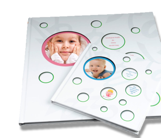 The Baby and Children Horoscope Book in 2 sizes.