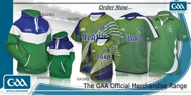 GAA clothing range