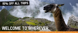 Welcome To Wherever: 15% Off All Geckos' Tours