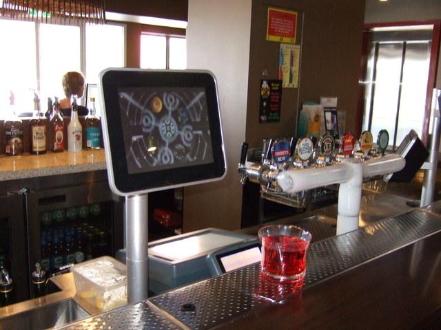 PulseTV Bar Counter Screen