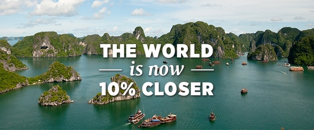 World is 10% closer with Peregrine