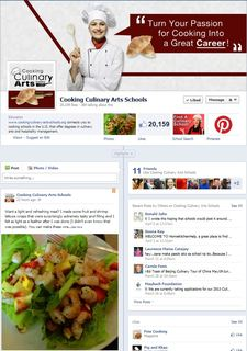 Cooking-Culinary-Arts-Schools.org Hits Over 20,000 Likes on Facebook