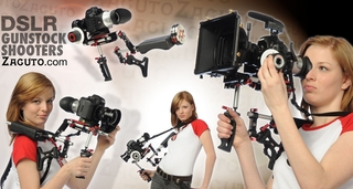 Zacuto locks and loads its four new Gunstock Shooters just in time for the NAB show