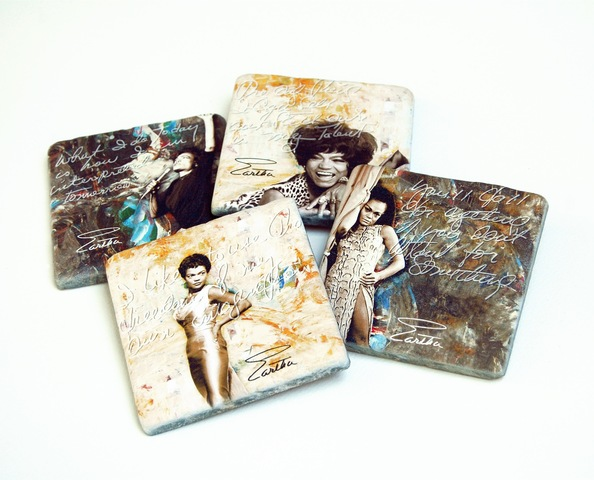 Simply Eartha Coasters made of natural stone