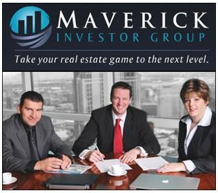 "Maverick Investor Group Named ""Top 50 Real Estate Investment Opinion Makers and Market Leaders"""
