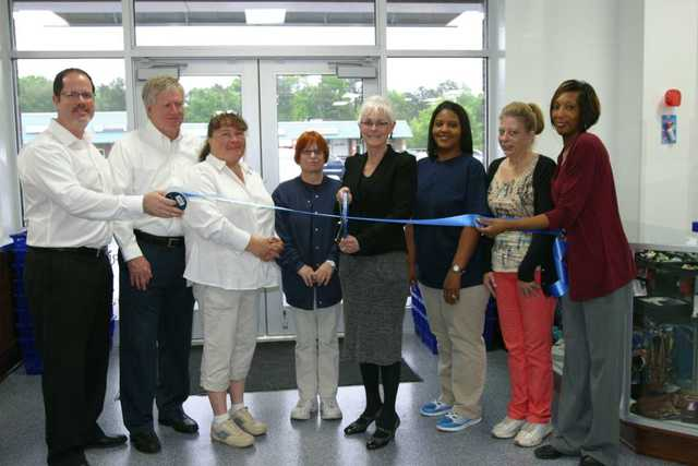 The GCF teams opened the Louisburg, NC Donation Center & Store on April 29 with a ribbon cutting.
