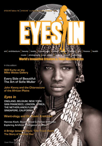 Cover of EYES IN Magazine Issue 19