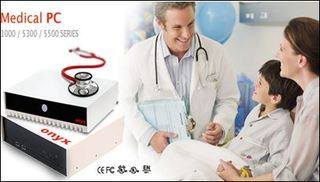 Onyx Healthcare Introduces Its Fanless Medical Grade PC