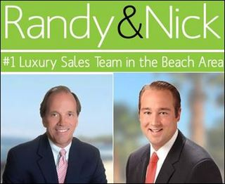 Randy and Nick Leading the Sales with Three Major Oceanfront Transactions in the Beach Area