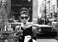 Audrey Hepburn in Breakfast at Tiffany's sunglasses