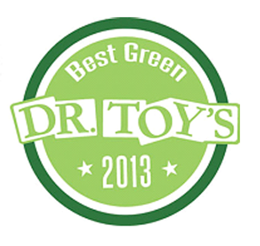 Dr. Toy 2013 Best Green Product Award Logo
