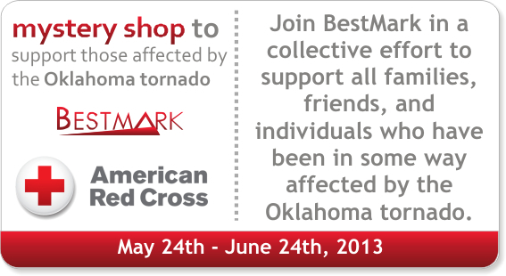 BestMark & American Red Cross partner with shoppers to aid in Oklahoma tornado relief efforts. Join us at http://shop.bestmark.com
