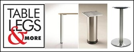 Table Legs and More Features Cast Iron Table Bases for Durability