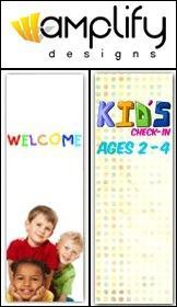 Amplify Designs Offers Special Deals on All Church Banners for Children's Ministry This Summer