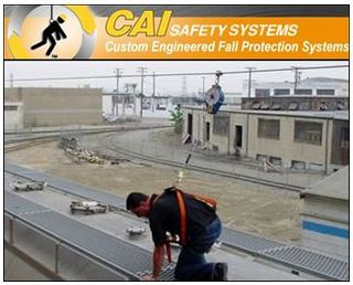 CAI Safety Emphasizes Importance of OSHA Compliant Safety Gates for Mezzanine, Loading Dock, and Ladder Fall Protection