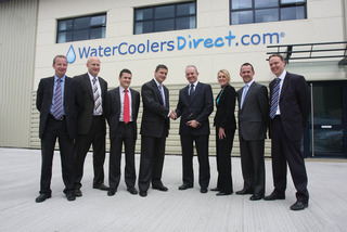 CEO from Barclays Commercial Visits Gloucester-based Water Coolers Direct