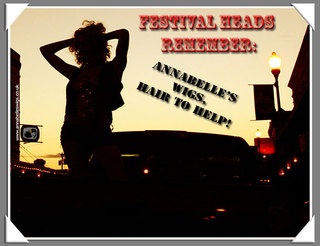 Annabelle's Wigs: Saving Festivals Heads from Disarray this Summer