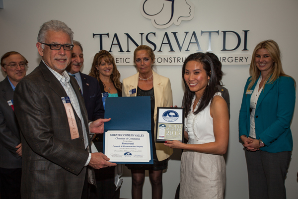 At the Grand Opening of Tansavatdi Cosmetic & Reconstructive Surgery