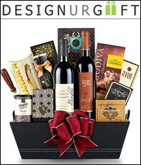 Design Ur Gift Features Toast of California Wine Basket