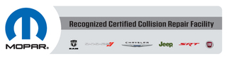 Kustom Koachworks, Inc. Earns Chrysler's Mopar Collision Repair Certification