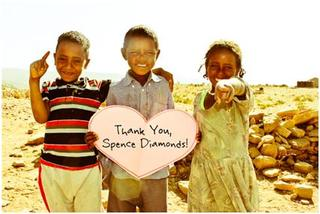 Spence Diamonds Gives Back: Supporting imagine1day in Ethiopia