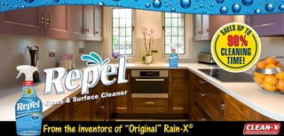 Market Watch: Home Depot® & Menards® Now Offers Unelko's REPEL™ Glass and Surface Cleaner & Re…