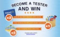 Become a tester and win!