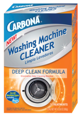Carbona Washing Machine Cleaner Deep Clean Formula