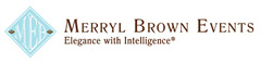 Known for their attention to detail and old world elegance, Merryl Brown Events specializes in social events, corporate events and elegant Santa Barbara weddings.