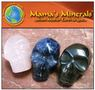 Mini Stone Skull Bead Collection Set of 3