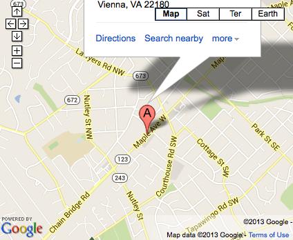 Virginia Family Medicine new office location in Vienna, VA.
