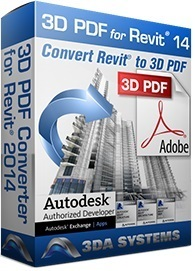 3D PDF Converter for Autodesk Revit