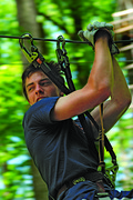 Kids, teens and adults can all find challenge and fun in the trees at The Adventure Park at Frankenmuth.